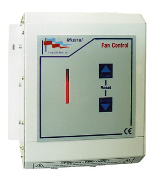 Mistral ventilation control - a typical IMOD application