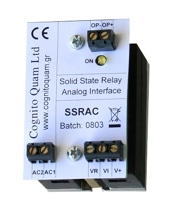 SSRAC Solid State Relay Analog Controller