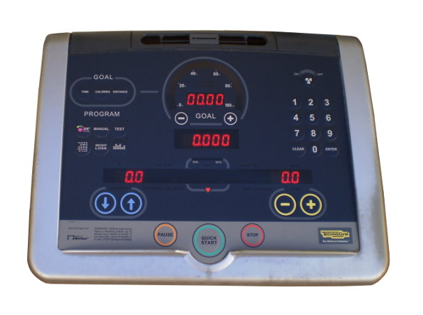 The retrofit control kit for popular, used Technogym© models.